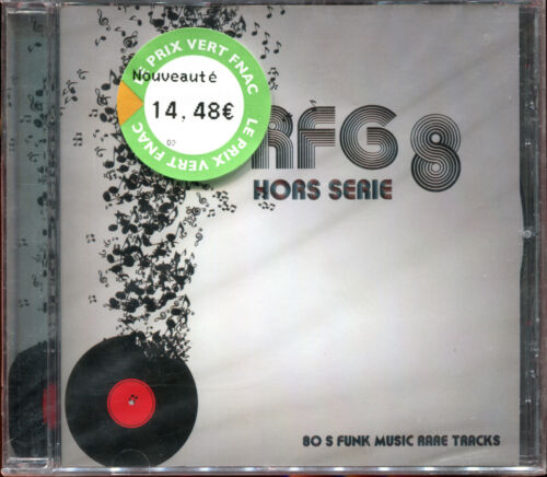 RFG 8 HORS SERIE  - CD COMPILATION RARE BOOGIE FUNK - NEW SEALED NEUF CELLO