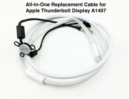 """All-in-One Replacement Cable for Apple Thunderbolt Display 27"""" A1407 Mid 2011"""