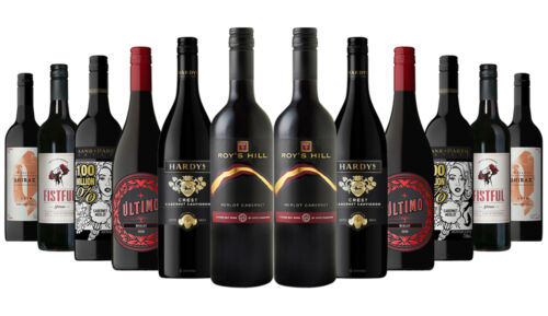 Anzac Day Special Collection Classic Red Mixed 12x750ml Free S/R