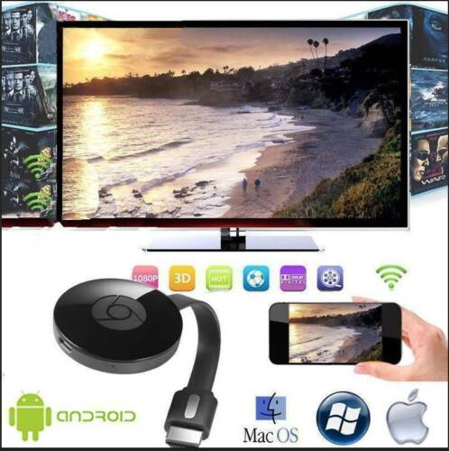 Chromecast WiFi 4th Generazione HDMI Cromecast Dongle Lettore Full HD Streamer