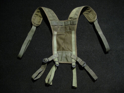 BRITISH ARMY LOAD BEARING YOKE SUSPENDERS PLCE-1 1990Other Military Surplus - 588