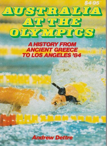 Australia At The Olympics - Andrew Dettre  - Collectable 1984Sports Stickers, Sets & Albums - 141755