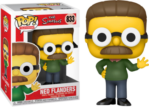 Funko POP! Television #833 Ned Flanders Exclusive