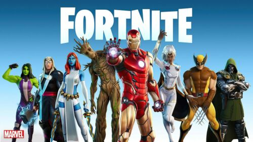 FORTNITE Poster (A0 - A2) - Marvel Avengers