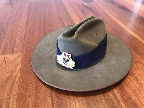 Australian Royal Navy Officers Akubra Hat Collectable Prop CostumeModern, Current - 36066