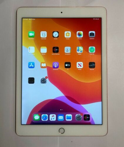 Apple iPad Pro 9.7 A1674 128GB WiFi + Cellular Rose Gold Excellent Condition