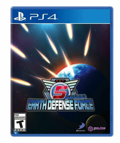 Earth Defense Force 5 PS4 Playstation 4 Brand New Sealed