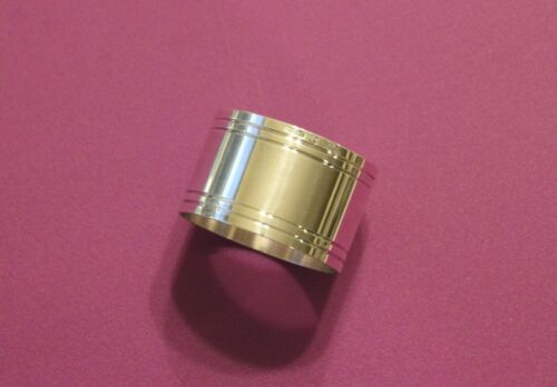 ONE Christofle NATHALIE Silver-plated Napkin Ring FRANCE (more avail)