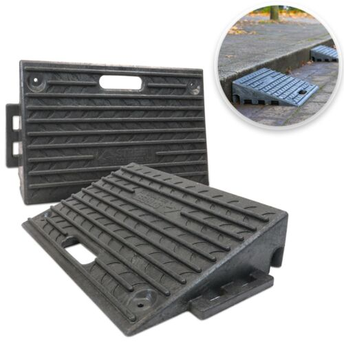 Heavy Duty Rubber Kerb Ramps, Threshold & Wheelchair Access Ramp - Brand New  <br/> Fast Delivery ✔ High-Quality ✔ UK Made ✔ BEST on eBay ✔