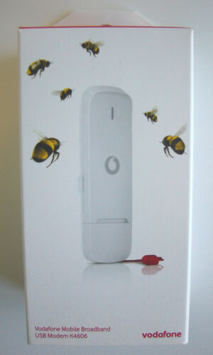 VODAFONE K4606 MOBILE BROADBAND USB STICK MODEM WHITE BNIB