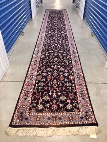 Genuine Antique Tribal Wool Hand knotted Rug Carpet Runner