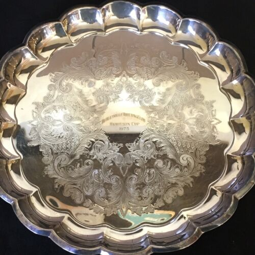 ATLANTA PLATE Paramount SILVER PLATED TRAY Healesville Trotting HORSE RACING