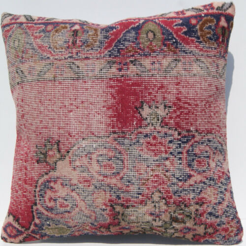 """24""""X24"""" Turkish square rug pillow cover square wool handknotted carpet area rug"""