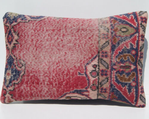 """Anatolian pillow cover Turkish rug pillow cover room art kilim area rugs 24""""x16"""""""