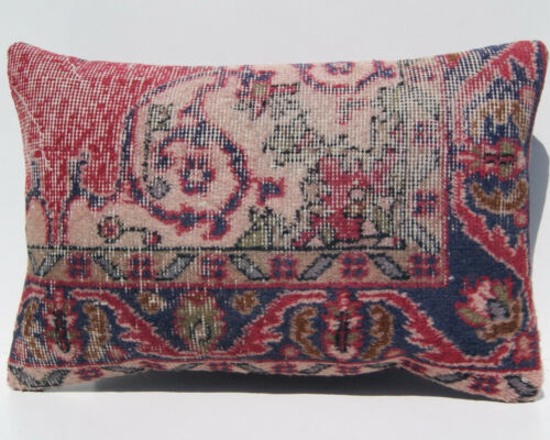 """decorative pillow case Turkish rug pillow cover room art kilim area rugs 24""""x16"""""""