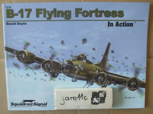 B-17 Flying Fortress in action - Squadron/Signal