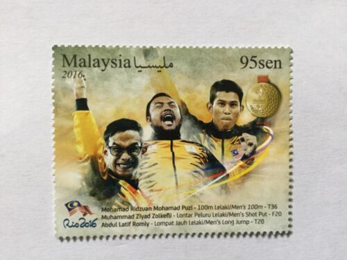 2016 Malaysia Malaya Gold Medal Complete Set MNH.Issue on 20/12/16
