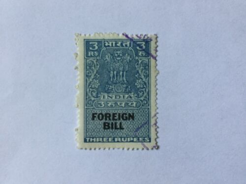 India Foreign Bill Old Stamps