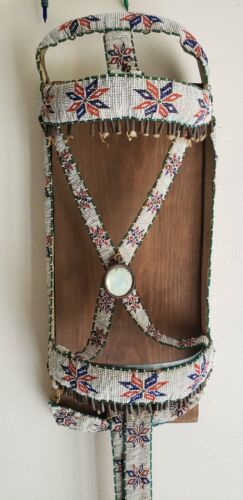 Authentic Sioux Beaded Bridal With Drops