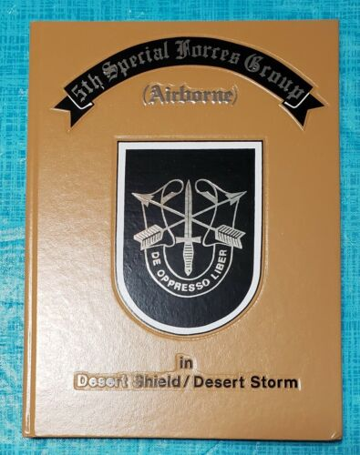 Book - 5th Special Forces Group in Desert Shield / Desert StormOriginal Period Items - 10953