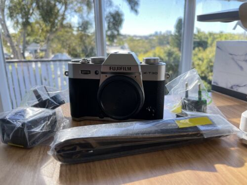 Fujifilm X-T30 Mirrorless Digital Camera Body Silver