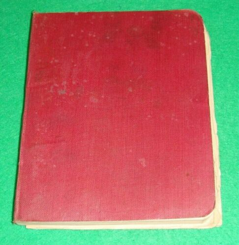 1908 Field service regulations part II book 1916 reprint issued to Durham RGA