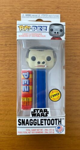 Funko POP! Pez Star Wars Series 3 Cantina Pez Dispenser Snaggletooth Chase Ver.