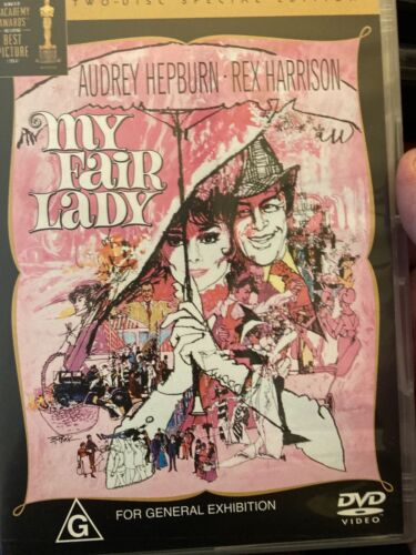 My Fair Lady DVD GM8 Incomparable! 2-disk set comes with some recent memorabilia