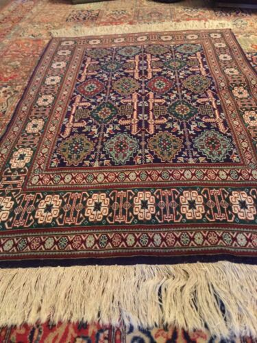 Fine Quality Authentic Wool Hand knotted Rug Carpet