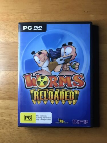 Worms Reloaded PC DVD - FREE POSTAGE*