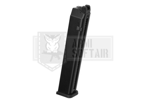 ACTION ARMY AAP01 PISTOL EXTENDED LONG HI CAP MAGAZINE 50 bb GREEN GAS AIRSOFTAccessori softair - 128714