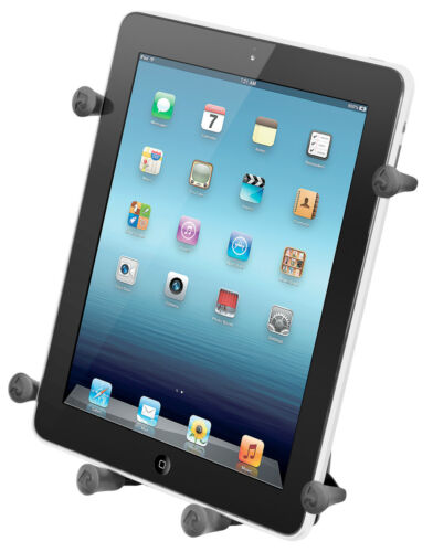 """RAM X-Grip Holder fits 10"""" Tablets With/Without Case, iPad, Galaxy, Others"""