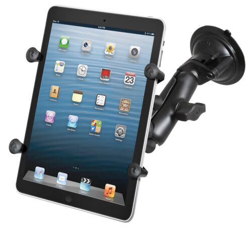 """RAM X-Grip Suction Cup Mount for Verizon Ellipsis 7, 8, Other 7"""" & 8"""" Tablets"""