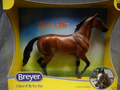 Breyer NEW * Tiz the Law * 1848 Lonesome Glory Race Traditional Model Horse