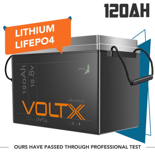 12V 100Ah Lithium Ion Battery LiFePO4 Deep Cycle Recycle Camping RV 4WD Solar