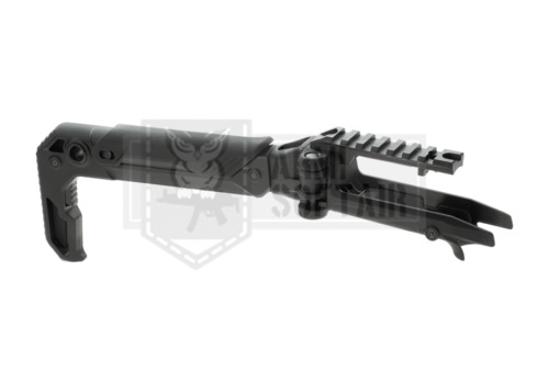 ACTION ARMY AAP01 AAP AAP-01 FOLDING STOCK M4 CARBINE POLYMER KIT BLACK AIRSOFTAccessori softair - 128714