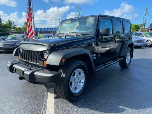 2013 Jeep Wrangler  2013 Jeep Wrangler Unlimited 4X4 FLORIDA SUV CLEAN Removable TOP Runs Great