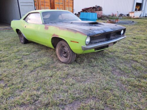 1970 Plymouth Other  1970 Plymouth Cuda V Code 440 6BBL