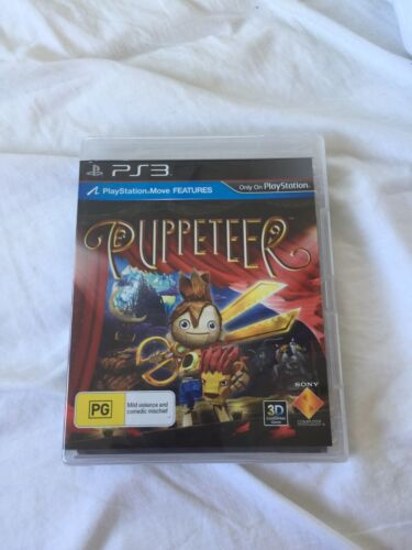Puppeteer PS3 Game (Brand New - SEALED & COMPLETE)