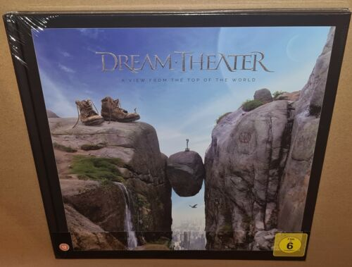 DREAM THEATER A VIEW FROM THE TOP OF THE WORLD (2021) NEW SEALED 2CD BLURAY