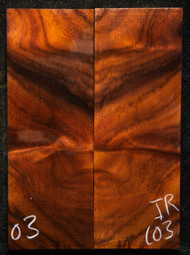 """East India Rosewood #103 Knife Scales 5""""x1.8""""x 3/8"""" see 100 woods in my store"""