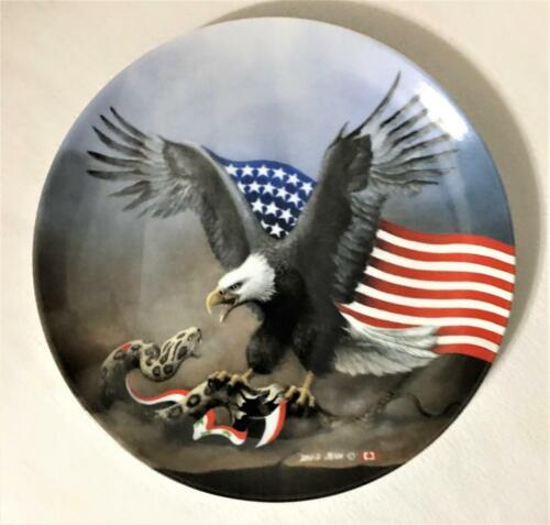 Ltd Ed PLATE OPERATION DESERT STORM BY DAVID JEAN #1 AMERICA'S FIGHT FOR FREEDOM