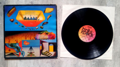 MESSAGE THE DAWN ANEW IS COMING BACILLUS 1973 LP vinyle 33T