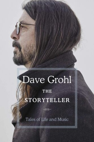 Storyteller: Tales of Life and Music by Dave Grohl   Hardcover Book   NEW AU