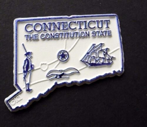 CONNECTICUT CONSTITUTION US STATE FLEXIBLE MAGNET 2 inches