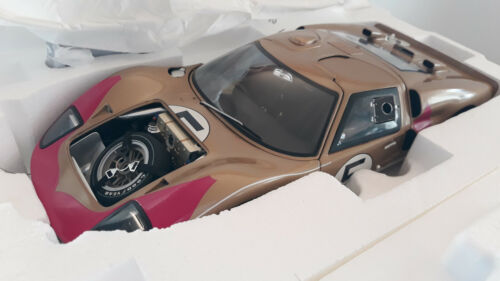 FORD GT40 MKII # 5 LE MANS 1966 HOLMAN MOODY 1/12 GMP G1201317 voiture miniature