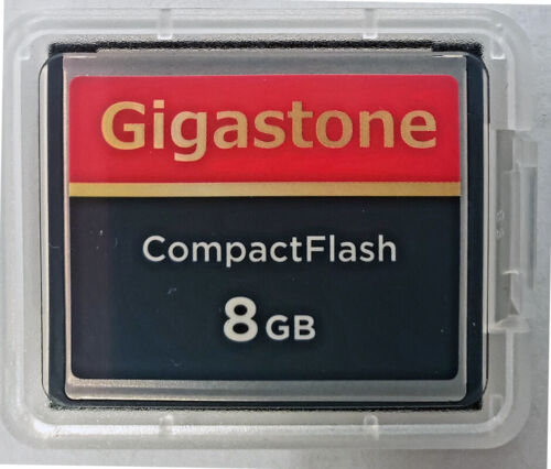 8GB Compact Flash Memory Card for Nikon D1 D1H D1X D100 D200 D2H D2X D70 D70s