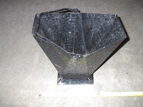 Authenticly Old Coal Bucket - Use it as a Waste Basket