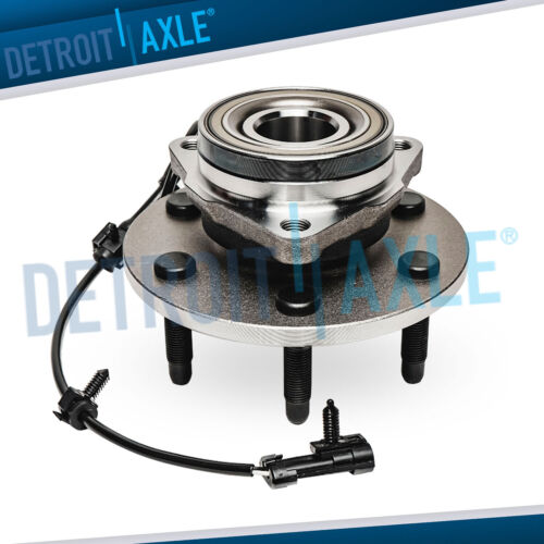 4x4 Front Wheel Bearing & Hub Assembly GMC Sierra Chevy Silverado Escalade Tahoe <br/> 4WD MODELS ONLY HEAVY DUTY - 10-YEAR WARRANTY!