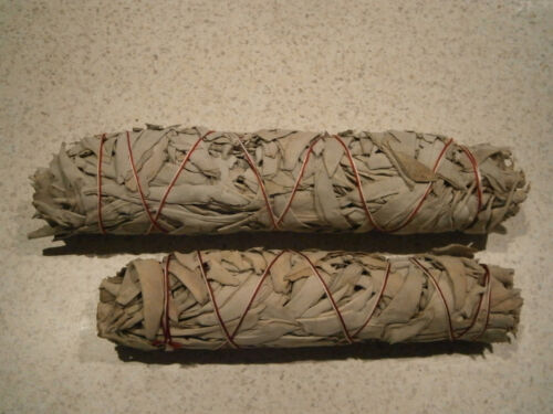 Smudge Stick California White Sage--Ex. Large.-22cm - FREE POSTAGE-Top Item only
